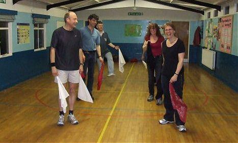 Practice at Lady Bay Revellers Morris